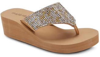 OLIVIA MILLER Happy Wedge Sandals Women Shoes