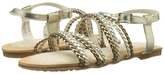Stuart Weitzman Camia Woven Girl's Shoes