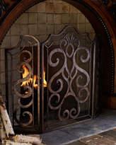 Ambella Scroll Fireplace Screen