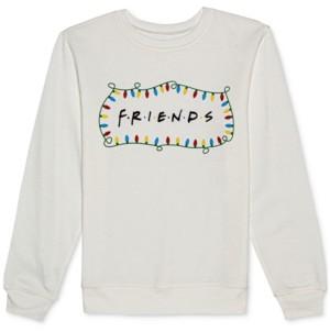 Warner Brothers Juniors' Friends Holiday Crewneck Sweatshirt