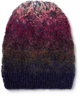 Missoni Dégradé Wool-blend Beanie - Blue