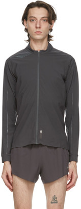 Soar Running Grey Elite Tempo 2.0 Track Jacket
