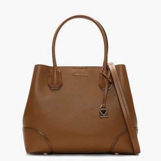 Michael Kors Large Mercer Acorn Pebbled Leather Tote Bag