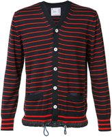 Sacai striped cardigan - men - Cotton/Cashmere - 3