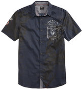 Buffalo David Bitton Men's Graphic Print Short-Sleeve Shirt