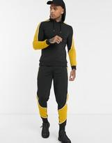 Asos Design DESIGN co-ord super skinny joggers in motorcross colour blocking