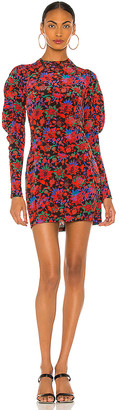 Rag & Bone Stephanie Printed Mini Dress