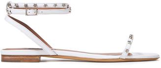 Tabitha Simmons Phoenix Stars Leather Sandals