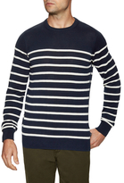 Ben Sherman Graphic Stripes Cotton Sweater