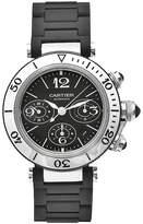 Cartier Men's W31088U2 Pasha Stainless-Steel Ceramic Automatic Chronograph Watch