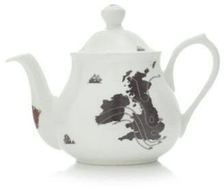 Ali Miller London Home Sweet Home Uk & Ireland Map 2-Cup Teapot