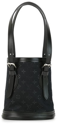Louis Vuitton 2001 Pre-Owned Logo Print Bucket Bag