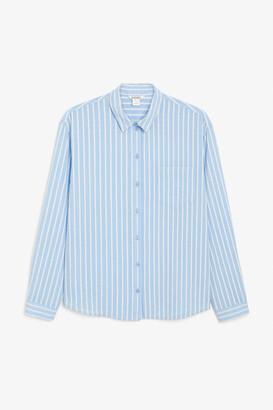 Monki Soft cotton shirt