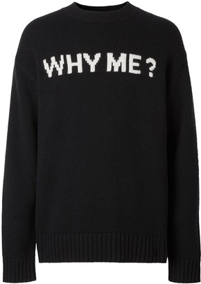 Burberry cashmere Why me? jumper