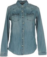 Maison Scotch Denim shirts - Item 42584484