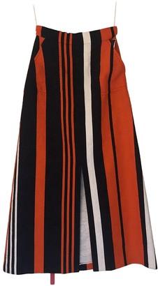 Dolce & Gabbana Orange Cotton Skirts