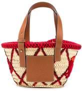 Loewe Small Embroidered Basket Bag