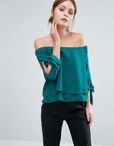 Coast Leyli Bardot Top