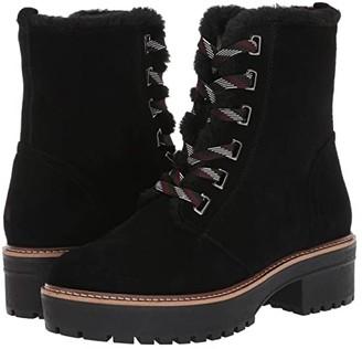 VALDINI Kiki Waterproof Boot (Black Suede) Women's Shoes