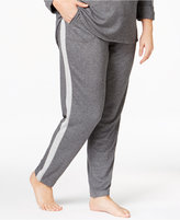 Karen Neuburger Plus Size Contrast-Panel Pajama Pants