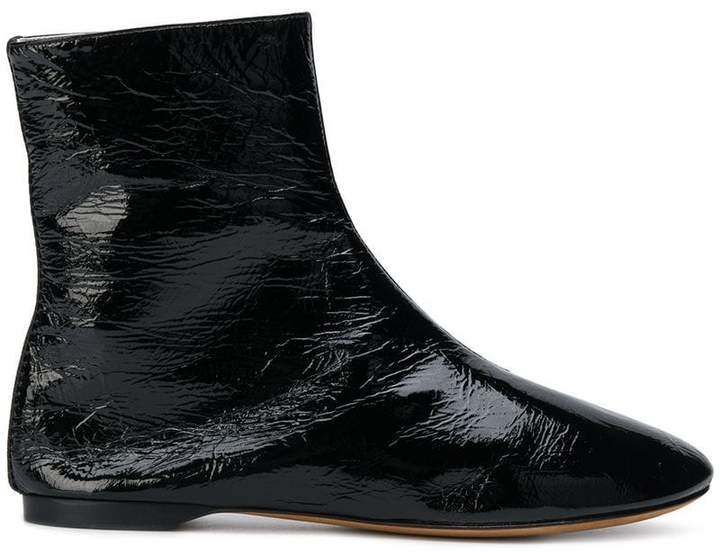 Givenchy patent ankle boots