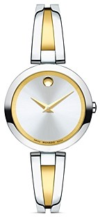 Movado Aleena Two-Tone Watch, 27mm