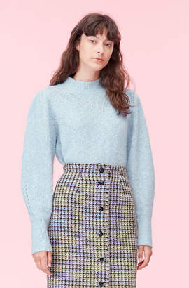 Rebecca Taylor Optic Tweed Pullover