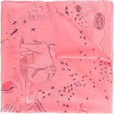 Valentino Garavani Garden Of Earthly Delights scarf - women - Silk - One Size