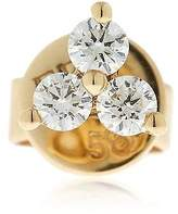 Ef Collection Trio Diamond Mono Stud Earring