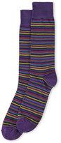 Lorenzo Uomo Thin Stripe Socks