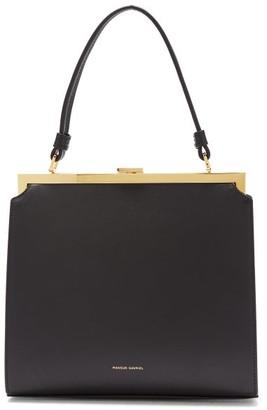 Mansur Gavriel Elegant Leather Handbag - Womens - Black