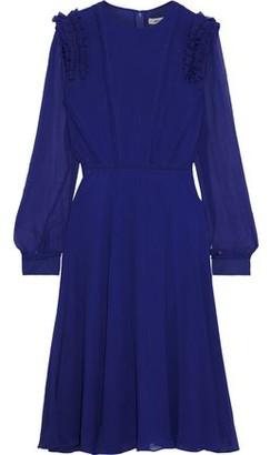 Jason Wu Ruffle-trimmed Silk-georgette Dress