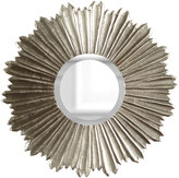 Horchow Soliel Large Silver Mirror