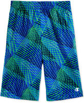 Champion Abstract-Print Mesh Shorts, Little Boys (4-7)
