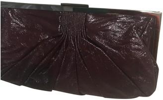 Miu Miu Burgundy Patent leather Clutch bags
