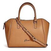 GUESS Women's Manzu Satchel