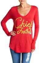 Junk Food Clothing KC Chiefs Long Sleeve Tee