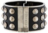 Burberry Leather Studded Cuff
