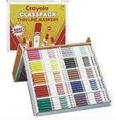 Crayola Classpack Fine Markers - 200 Markers