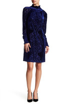Alexia Admor Long Sleeve Velvet Dress