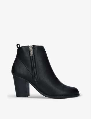 Carvela Tangle leather ankle boots