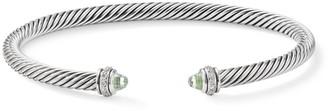 David Yurman Cable Classic Bracelet with Gemstone & Diamonds