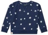 Ralph Lauren Girls' French Terry Star Print Sweatshirt - Little Kid