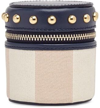 Fendi Studded Fabric Box