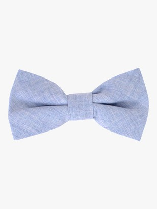 John Lewis & Partners Boys' Chambray Bow Tie