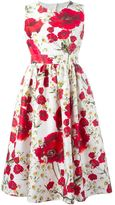 Dolce & Gabbana daisy and poppy print dress