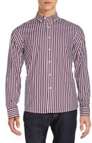 Victorinox Tailored-Fit Sellen Striped Sportshirt