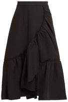 Rachel Comey Bonnie ruffled cotton-blend skirt