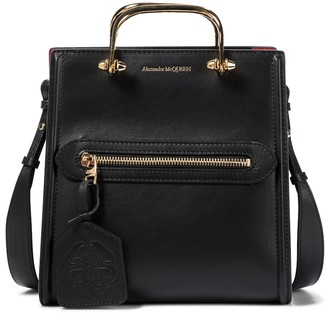 Alexander McQueen The Short Story leather tote