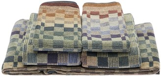 Missoni Set Of 5 Yassine Cotton Towels